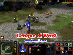 League of War3 v3.93d1
