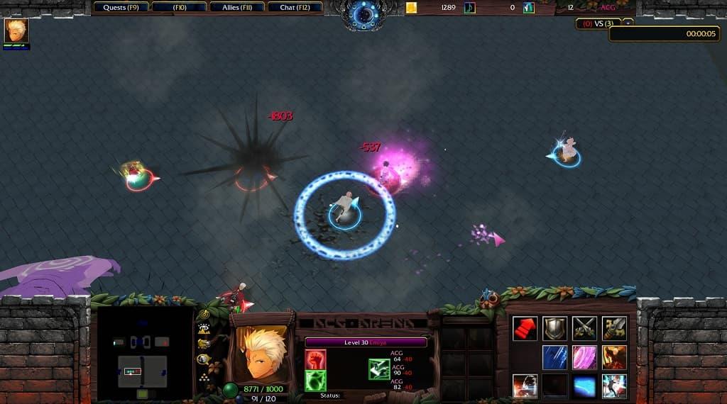 ACG-Arena-210-AI screenshots